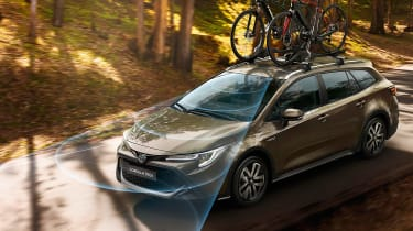 Toyota Corolla TREK - road monitoring