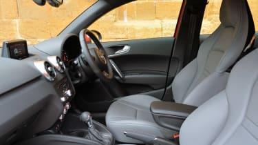 New Audi A1 2015 front seats