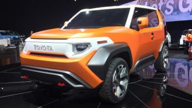Toyota FT-4X Concept - Detroit front