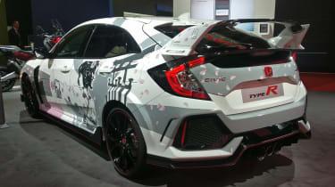 Honda Civic Type R ArtCar Manga