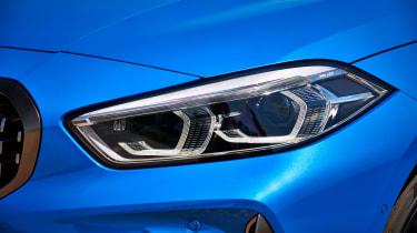 BMW M135i 2019 lights