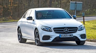 Mercedes E-Class - tracking
