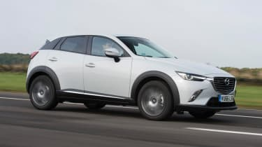 Used Mazda CX-3 - front action