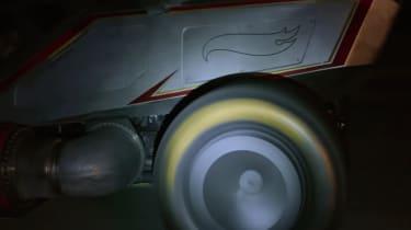 Hot Wheels X-Wing Carship - wheel