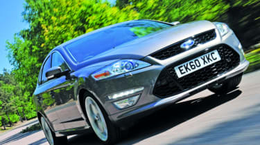Ford Mondeo TDCi front track
