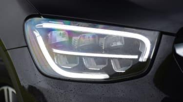 Mercedes GLC 220 d  - headlight