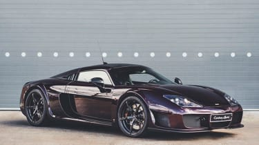 Fastest production cars in the world - Noble M600