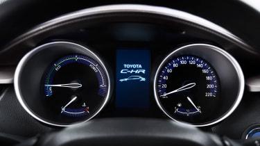 Toyota C-HR - dials