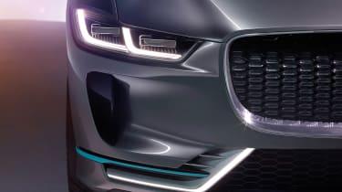 Jaguar I-Pace - studio front light detail