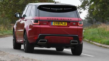 Range Rover Sport - Rear Cornering