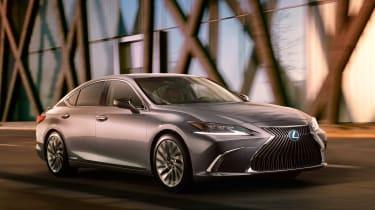 Lexus ES - front action