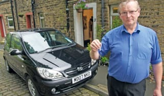 Hyundai Getz spare key problem