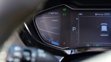 New Kia Niro Hybrid - dials detail