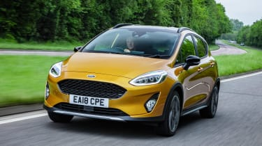 Ford Fiesta Active - front action