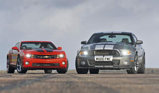 Shelby Mustang vs. Chevy Camaro