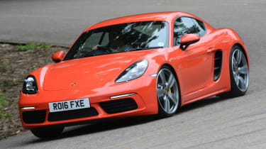 Porsche Cayman - best used coupes