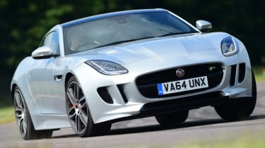 Jaguar F-Type R Coupe front end