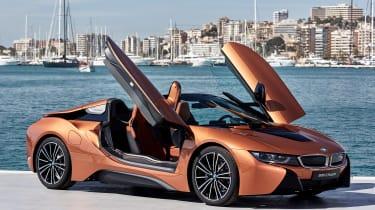 BMW i8 Roadster - doors open