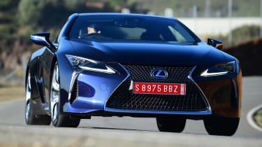 Lexus LC 500h - front cornering