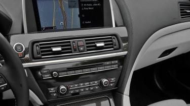 BMW M6 Convertible centre console