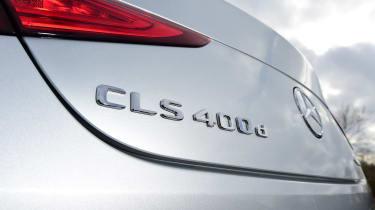 Mercedes CLS boot lid