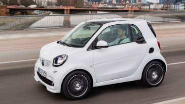 Smart ForTwo and ForFour Brabus pan