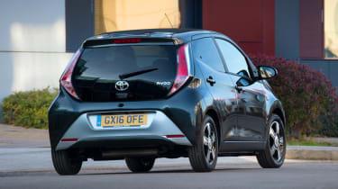 Toyota Aygo x-clusiv - rear
