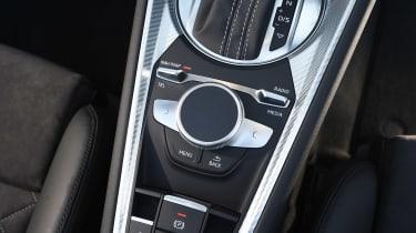 Audi TT RS Roadster - MMI control