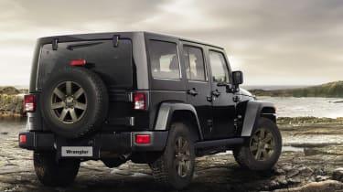 Jeep Wrangler - Rear Three Quarters