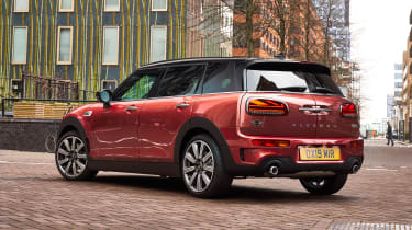 MINI Clubman - red