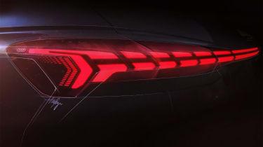 Audi Q4 e-tron concept - rearlight sketch