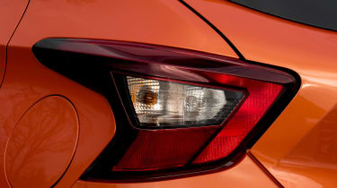 New Nissan Micra - rear light detail