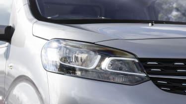 Vauxhall Vivaro van - headlight