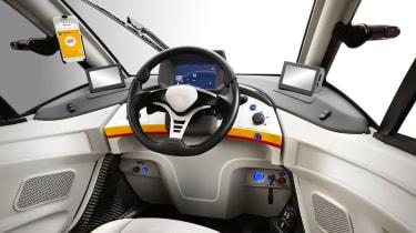 Shell Gordon Murray car cabin