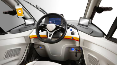 Shell Gordon Murray car cabin