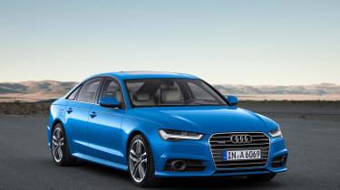 Audi A6 facelift - front three quarter