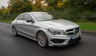 Mercedes CLA 45 AMG 2013 front track