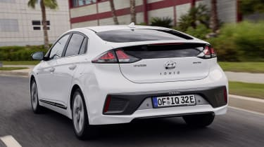 Hyundai Ioniq Electric - rear