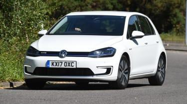 Long-term test - VW e-golf - front