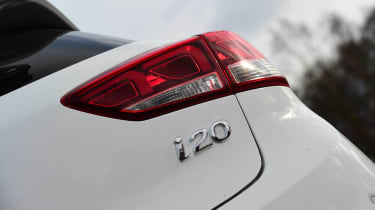 Hyundai i20 Coupe - rear light detail