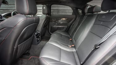 Jaguar XJR - rear seats