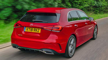 Mercedes A 250 AMG Line - rear action