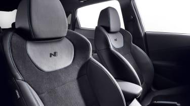 Hyundai Kona N - seats