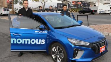 Hyundai Ioniq autonomous - Graham Hope