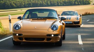 Porsche 993 911 Turbo - front