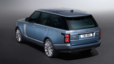 Updated Range Rover - rear static