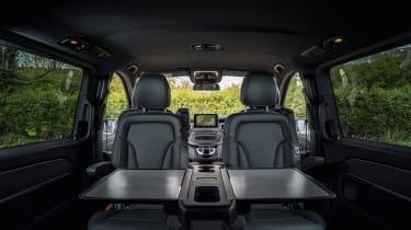 Mercedes V-Class - passenger seating