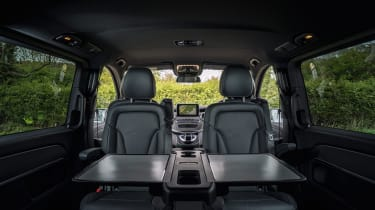 Mercedes V-Class - passenger seating