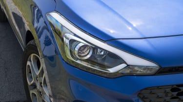 Hyundai i20 front detail