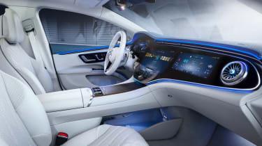 Mercedes EQS - cabin